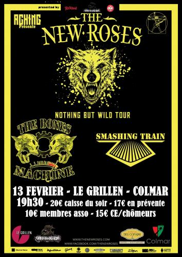 The News ROSES Smashing train et The bones machine