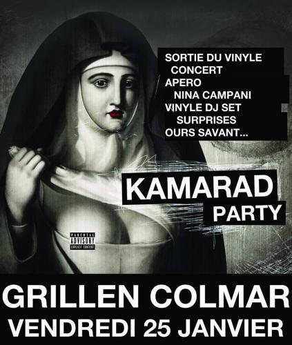 Kamarad Party | Sortie du Vinyle