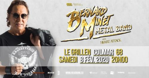 Bernard Minet Metal Band - avec Heart Attack • Grillen • Colmar
