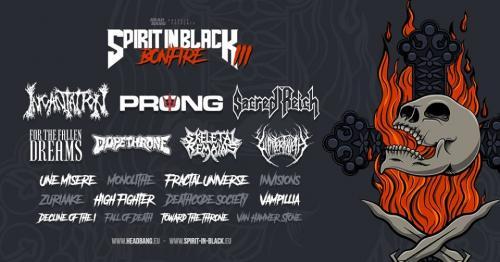 Spirit in Black Ⅲ Bonfire • Festival • Grillen