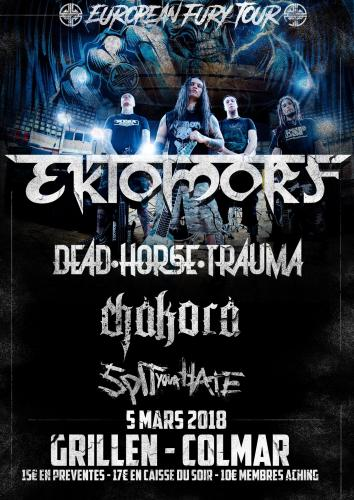 Ektomorf  * Dead Horse Trauma * Spit Your Hate