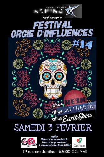 Festival Orgie d'influences #14