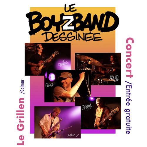 Concert du BoyzBand Dessinée au GRILLEN