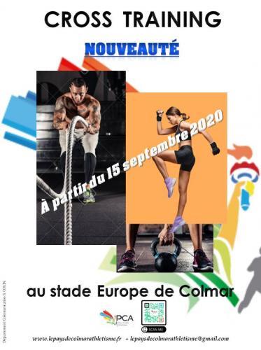 CROSS TRAINING COLMAR au club le Pays de Colmar Athlétisme