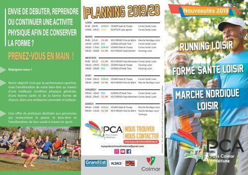 Running loisir, marche nordique, sports santé au Club le Pays de Colmar Athlétisme