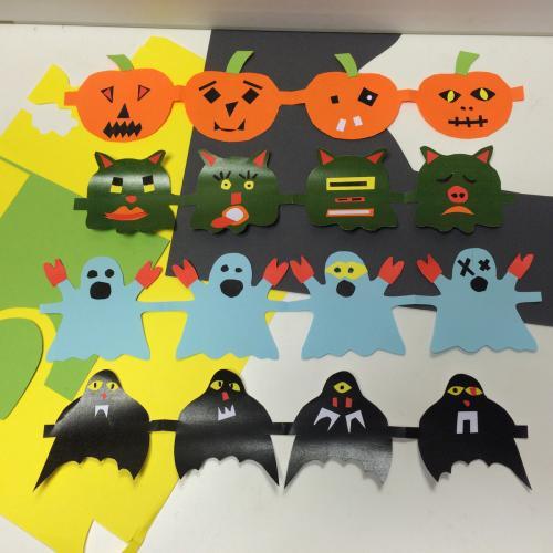 Fabrication d'une frise d'Halloween