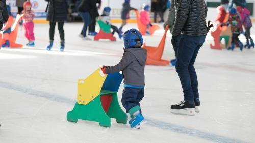 Journée des enfants à la patinoire de Colmar