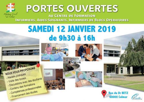 Portes ouvertes au Centre de Formation des Professions Paramédicales des Hôpitaux Civils de Colmar