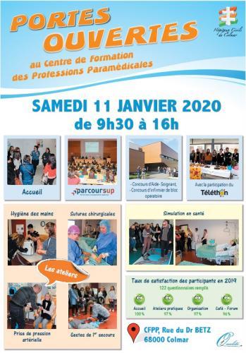 Portes Ouvertes Centre de Formation des Professions Paramédicales des Hôpitaux Civils de Colmar