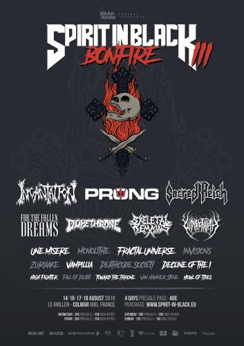 Festival SPIRIT IN BLACK III 14/08/19