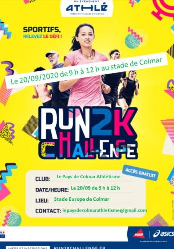Challenge Run 2K