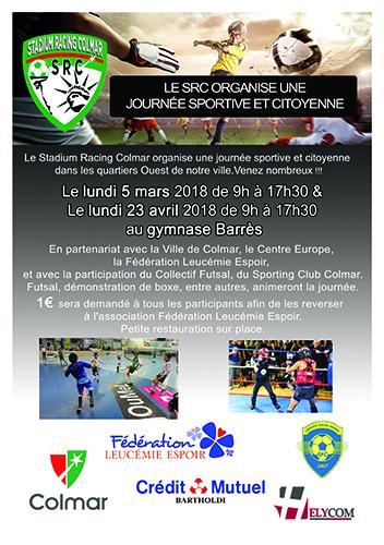 Le SRC organise une journée sportive et citoyenne